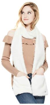 GUESS Clara Furry Scarf