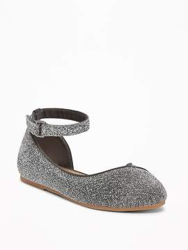 Old Navy Sparkle Demi D'Orsay Flats for Toddler Girls