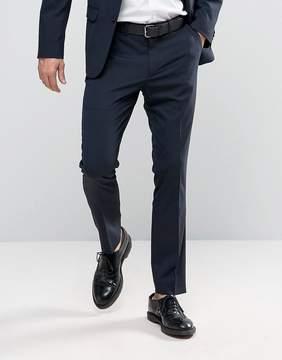 New Look Slim Suit Pants In Navy