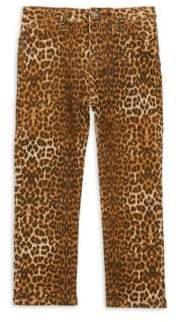 Hudson Little Girl's Dolly Leopard-Print Jeans