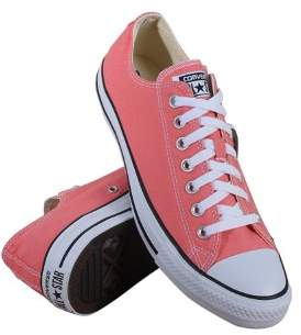 Converse Lo Top Sneakers Sunblush Size 7.5