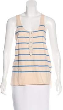 Calypso Striped Sleeveless Top