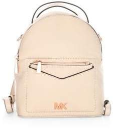 MICHAEL Michael Kors Small Convertible Leather Backpack