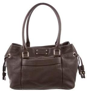 Kate Spade Brown Leather Tote - BROWN - STYLE