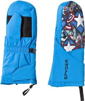 Spyder Captain America Marvel Overweb Mini Ski Mittens