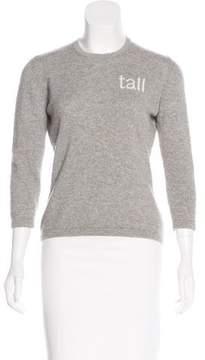 Barneys New York Barney's New York Cashmere Intarsia Sweater