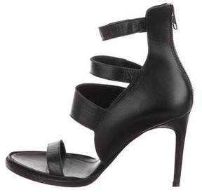 Helmut Lang Leather Multistrap Sandals