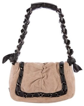 Gianfranco Ferre Chain-Accented Shoulder Bag