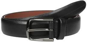 Perry Ellis Portfolio Park Ave Pebbled Leather Dress Belt Men's Belts