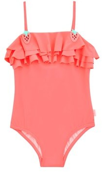 Seafolly 1 Piece Pink Kids Swimsuit Touci Frutti.