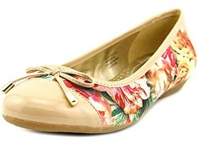Karen Scott Rylee Cap Toe Canvas Flats Us, Floral, Size 6.0.