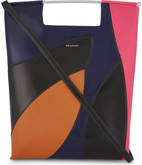 Delpozo Patchwork leather tote