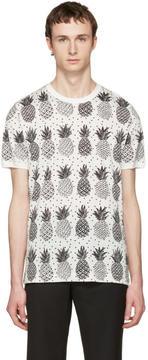Dolce & Gabbana White Pineapple T-Shirt