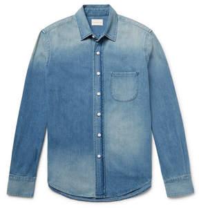 Simon Miller Slim-Fit Washed-Denim Shirt