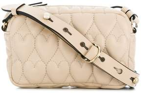 RED Valentino RED(V) heart quilted crossbody