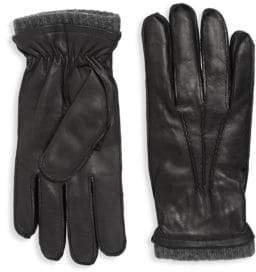Saks Fifth Avenue Napa Leather Gloves