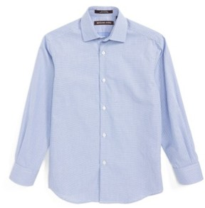 Boy's Michael Kors Neat Dress Shirt