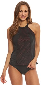 Fit 4 U Fit4U Boy Meets Girl High Neck Tankini Top 8155883