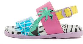 Sophia Webster Becky Malibu Mini Sandal, Aqua