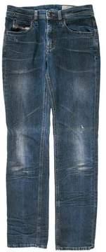Diesel Faithlegg Skinny Mid-Rise Jeans