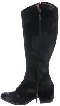 Donald J Pliner Distressed Suede Knee-High Boots w/ Tags