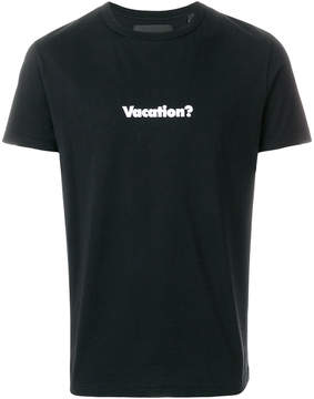 Blood Brother Vacation T-shirt
