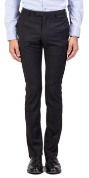 Christian Dior Men's Wool Slim Fit Trouser Pants Black