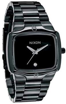 Nixon Men's Player A140001 Black Stainless-Steel Quartz Dress Watch