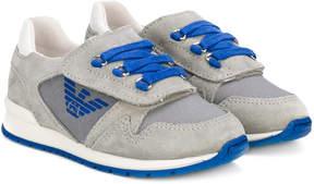 Emporio Armani Kids logo sneakers