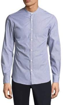 Officine Generale Gaspard Striped Button-Down Shirt