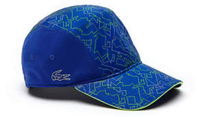 Lacoste Men's Sport Print Technical Jersey Tennis Cap