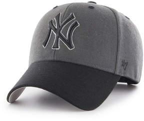 '47 New York Yankees 2Tone Charcoal/Black Pop Mvp Cap