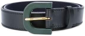 Marni contrast buckle belt