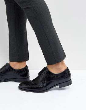 Red Tape Smart Brogues In Black