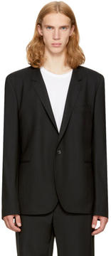 Paul Smith Black Wool Basic Blazer