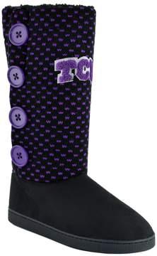 NCAA Women's TCU Horned Frogs Button Boots