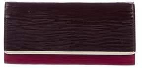Louis Vuitton Tri-Color Epi Flore Wallet