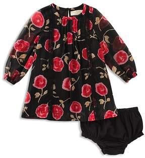 Kate Spade Girls' Metallic Chiffon Dress & Bloomers Set - Baby