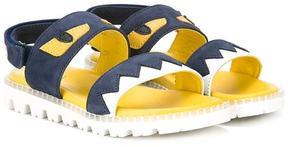 Fendi Kids Monster sandals