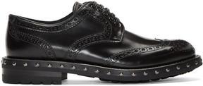 Dolce & Gabbana Black Studded Brogues