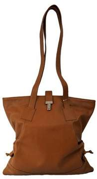 Piel Leather LEATHER TOTE W/SIDE STRAPS
