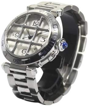 Cartier Pasha Stainless Steel Automatic 38mm Mens Watch