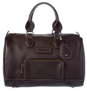 Longchamp Leather Bowler. - BLACK - STYLE