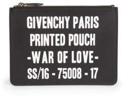 Givenchy Logo Zip Pouch