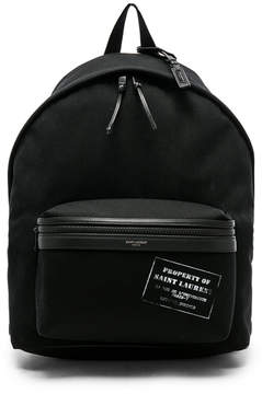 Saint Laurent Canvas Property Backpack
