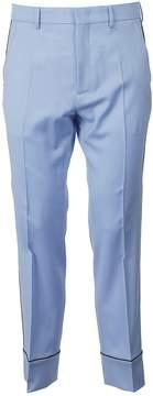 N°21 N.21 Contrast Pipe Trim Trousers