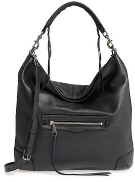 Rebecca Minkoff Slim Regan Hobo Bag - Black - BLACK - STYLE