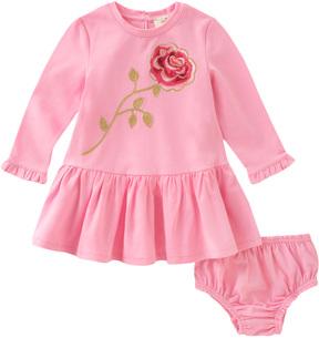 Kate Spade Rose Dress & Bloomers Set