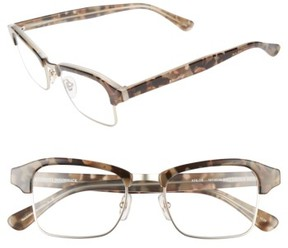 Corinne McCormack Women's Khloe 49Mm Reading Glasses - Grey Demi