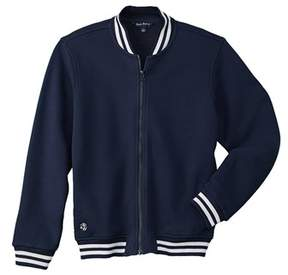 Brooks Brothers Fleece Boys' Baseball Jacket.